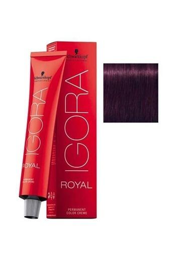 Schwarzkopf Igora Royal No:0-99 Viyole Yoğunlaştırıcı Saç Boyası Kahve